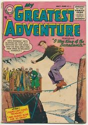 My Greatest Adventure Issue 3 Comic May 1955 Golden Age Dc Comics Rare And Htf