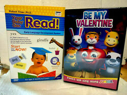 Your Baby Can Read Early Language Interactive Development System 5 Dvd Set New