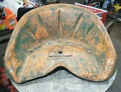 Oliver Cletrac Hg Crawler Tractor Steel Pan Seat Nice Rare Crawler Tractor Seat