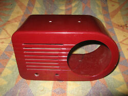 Fada 116 Bullet 1940's Catalin Radio Cabinet Only Broken And Repaired Tube Tubes