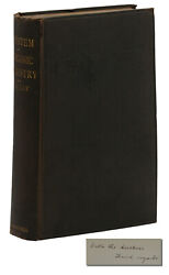 A System Of Inorganic Chemistry William Ramsay Signed First Edition 1st 1891