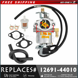 Carburetor Carb Assy 1269144010 For Kubota Wg600 Wg750 G2000 G2000s Lawn Tractor
