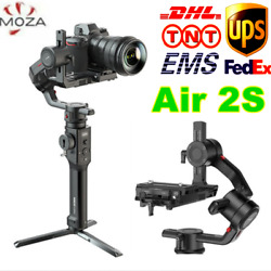 Moza Air 2s 3-axis Handheld Gimbal Stabilizer For Bmpcc 4k Canon Nikon Sony Dslr