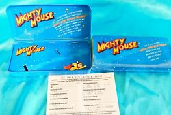 No Watch - Original Packaging And Pin For Mighty Mouse Fossil Watch 1994