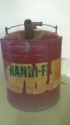 Vintage Mower General Metalware Co. Gas Can 10 X 9 2 Gallon