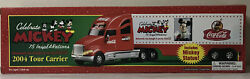 Coca Cola Mickey Mouse 2004 Truck Tour Carrier75 Inspearations Mickey Statue