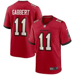 New 2021 Blaine Gabbert Tampa Bay Buccaneers Nike Game Player Edition Jersey Nwt