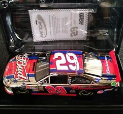 Kevin Harvick 2011 Budweiser 4th Of July White Gold Elite Door Number 29 Grail