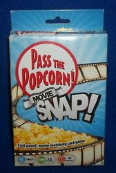 Pass The Popcorn Movie Snap Fast Paced Movie Matching Card Game New