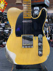 Fender Custom Shop Limited Edition 70th Anniversary Broadcaster Heavy Relic - Ag