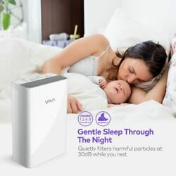 Large Room 4 In 1 Air Purifier With Hepa Filter Sanitizer Remove Odor Dust