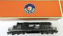 ✅lionel Norfolk Southern Sd40-2 Non-powered Diesel Engine Dummy 6-38941 O Scale