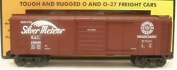 ✅mth Railking Seaboard Rounded Roof 40' Box Car 30-7449 O Gauge Freight Train