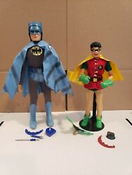 1966 And 1967 Ideal Captain Action Batman And Action Boy Robin