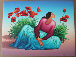 R.c. Gorman Floria On Sale Limited Edition Artwork, Signed And Numbered