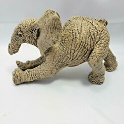 The Herd Duster 3221 By Martha Marty Carey Elephant Figurine Missing It's Tail