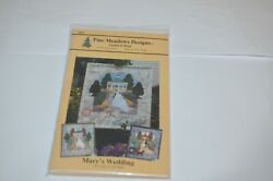 Pine Meadows Designs Connie D. Roys Mary's Wedding Applique Pattern Wall Hanging