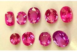 Fine Natural Morganite Pair 20 X 13 Oval Shape For Earring -watch Video