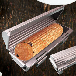 French Bread Aluminum Mold Loaf Pan Round Cylinder Shape Toast Boxfor Home Shop