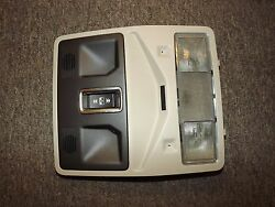 12 13 Land Rover Range Evoque Dome Map Reading Light Sun Roof Beige Switch Oem .