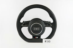 Audi A1 S1 S Line A3 S3 Half Perforated Leather Steering Wheel S10