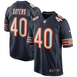 Brand New 2021 Nfl Gale Sayers Chicago Bears Nike Game Retired Player Jersey Nwt