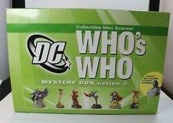 A7 Dc Direct Whoand039s Who Mystery Box Series 3 Collectible Mini Scene Full Complete