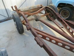 1936 Ford Rear End Differential Trailing Arm Spring And Brakes