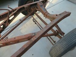 1936 Ford Front Axle Trailing Arm Spring And Brakes