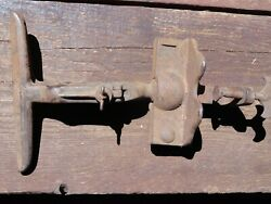 Vintage Cast Iron Hand Saw Sharpening Vise 9 Long Jaws Number 50 Free Shipping