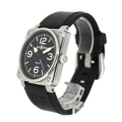 Bell And Ross Aviation Br03-92 Menand039s Watch Bell And Ross Ss Rubber Black Boxed