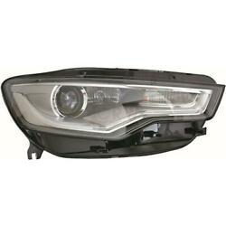 Xenon Headlight Right For Audi A6 C7 Type 4g Year 10- Mit Adaptive D3s+h7