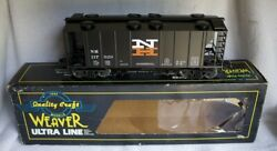 ✅weaver 3-rail New Haven Ps-2 Covered Hopper Car W/ Lionel Type Couplers