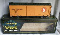 ✅weaver 3-rail Great Northern 40' Ps-1 Box Car W/ Lionel Type Couplers O Scale