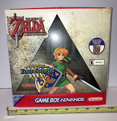 Legend Of Zelda Link To The Past Gameboy Advance Gba Retail Counter Display