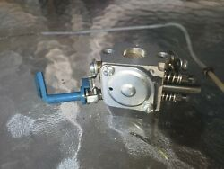 Husqvarna 326l Weed Trimmer Carburetor An Throttle Cable Included C10 Carb Oem