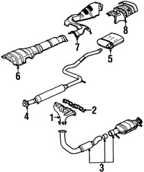 Genuine Gm Converter And Pipe 21013334