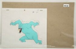 Ghostbusters Original Production Drawing And Cel 58-68 Used Cond.