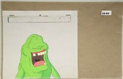 Ghostbusters Original Production Drawing And Cel 58-69 Used Cond.