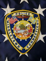 Connecticut Middletown Police Patch