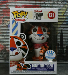 Funko Pop Ad Icons Shop Exclusive Tony The Tiger Frosted Flakes Vinyl Figure