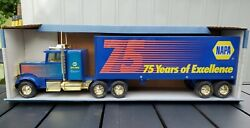 Napa 75 Years Of Excellence Semi Truck And Trailer Toy 1999 Nylint Toys New L65