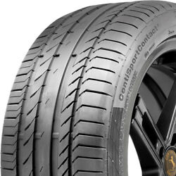 4 Continental Contisportcontact 5 255/40zr21 102y Xl Oe High Performance