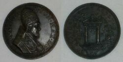 Rare 1650 Vatican Medal Innocent X Ann Vi Jubilee Year Opening The Holy Door
