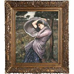 Overstockart Boreas Framed Oil Reproduction Of An Original Painting By John
