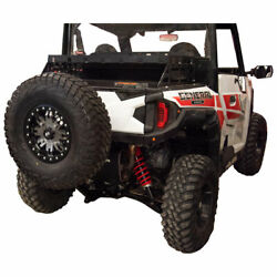 Tusk Hitch Mounted Spare Tire Carrier - Fits Polaris General 1000 Eps 2016-2021