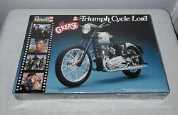 Revell Grease Ii Triumph Cycle Lord Motorcycle Model Kit 1982 Sealed Nos