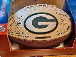 Green Bay Packers Autographed Reproduction Limited Edition Of 10,000-football