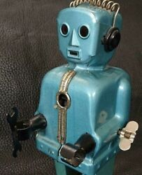 Nomura Toy Tin Tinplate Zoomer The Robot 1950s Not Working Vintage Rare Used