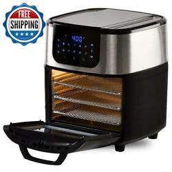 5.7 Liter Air Fryer Rotisserie Multifunction Cook Automatic Programmable Kitchen